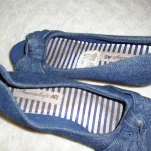 American Eagle Denim Shoes sz 11 Toddler